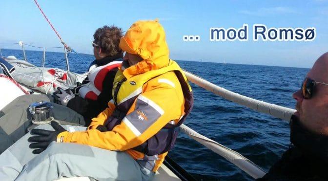 Sailing at the island FYN